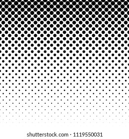 Linear halftone pattern. Circles, speckles, polka dot background / pattern