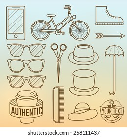Linear Hipster Objects