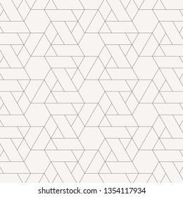 linear pattern with crossing thin poly lines, polygons. Abstract geometric texture. pattern is on swatches panel