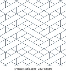 Linear seamless pattern. Subtle geometric background