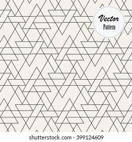 linear triangle vector pattern