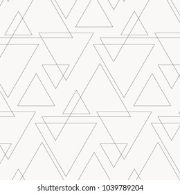 linear triangle vector pattern with big and small triangle connected each. pattern is on swatches panle