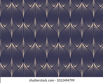 linear vector pattern, repeating abstract floral, gray line of leaf or flower, floral. graphic clean design for fabric, wallpaper etc. pattern is on swatches panel. Repeating geometric background