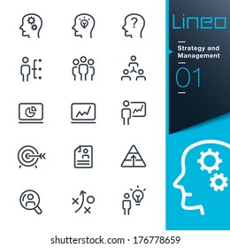 Lineo - Strategy and Management icons