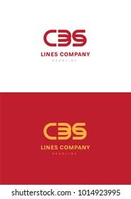 Lines Comapny logo template.
