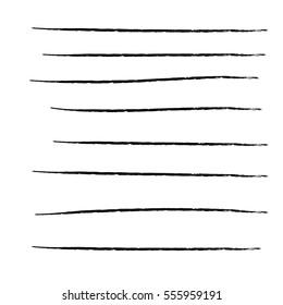 lines hand drawn
