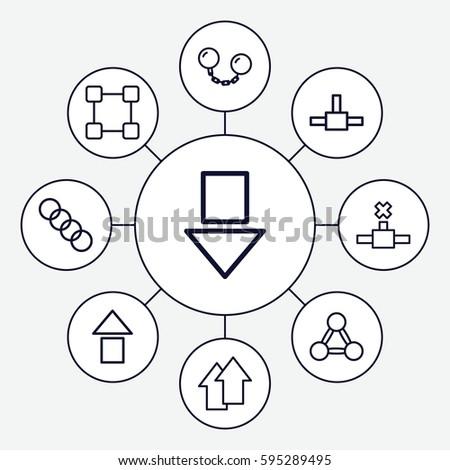 Arrow Electronics Symbols Circle With Diagram