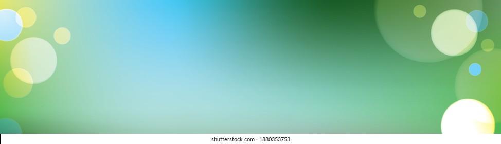 linkedin cover, Facebook cover, digitally created on a tablet, spring banner vector, instagram post, Bokeh lights vector, green vector banner, linkedin banner, sparkle vector