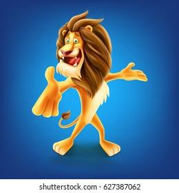 lion announcer