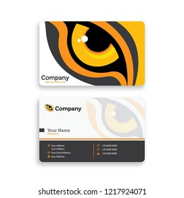 Lion Eye Business Card Template