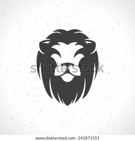 Lion Face Logo Emblem Template Business Image Vectorielle De Stock