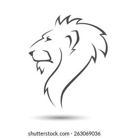 Leone Di Profilo Disegno.Immagini Foto Stock E Grafica Vettoriale A Tema Leone Di
