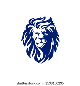 Lion Head Logo Design Template