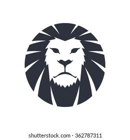 lion head - logo template