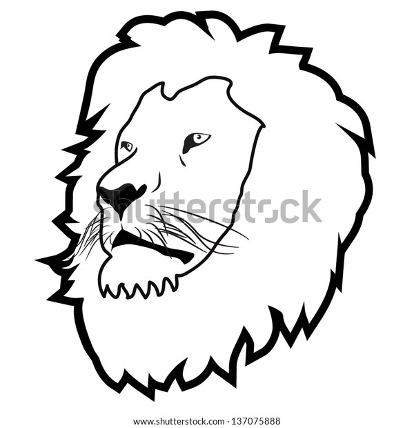 Lion Head Outline Stock Vector Royalty Free 137075888 Lion outline tribal embroidery design in 3x3 4x4 and 5x7 sizes this is hand digitized machine embroidery design. https www shutterstock com image vector lion head outline 137075888