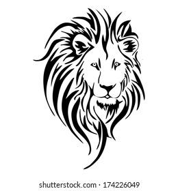 Tribal Lion Images Stock Photos Vectors Shutterstock
