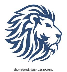 lion head vector icon