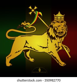 Lion of Judah vector illustration