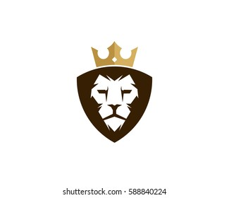Lion King Logo Design Element