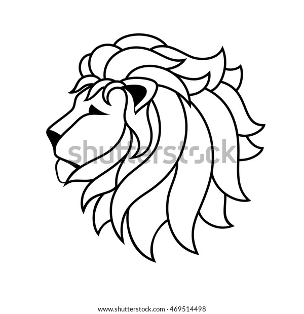 Lion Line Drawing Template Tshirts Coloring Stock Vector Royalty Free 469514498 Sketch of a lion stock vector. https www shutterstock com image vector lion line drawing template tshirts coloring 469514498