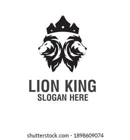 lion logo, king logo, tiger vector animal