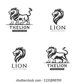 Lion logo - Perfect for sports team logos or corporate identity.