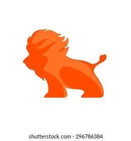 Lion logo. vector logo