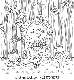 Lion and mouse | Lion and the mouse, Fables activities, Folk tales ... | 280x260