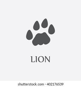 Lion paw.