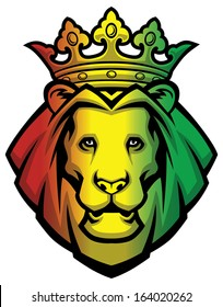 lion rasta head