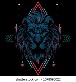 The Lion Sacred Geometry