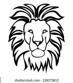 Lion Outline Images Stock Photos Vectors Shutterstock This time however, draw the mane with a ragged. https www shutterstock com image vector lion symbol outline 128273813
