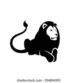 Lion symbol - vector illustration