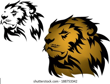 Lion tattoos and designs.