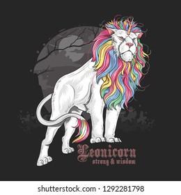 LION UNICORN MAJESTIC FULL COLOR