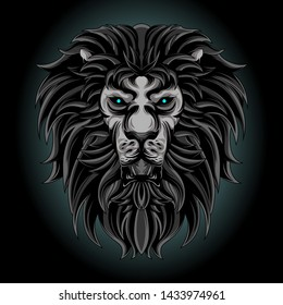 lion vector for commercial use