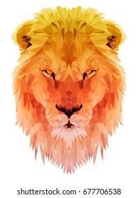 Lion vector polygon triangulate