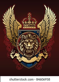 Lion Wing Shield