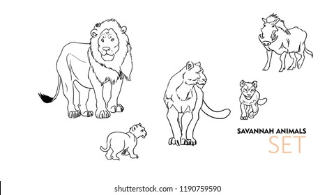 Lion Cub Drawing Images Stock Photos Vectors Shutterstock M.alibaba.com has found 71 images of lion cub for you. https www shutterstock com image vector lioness cubs lion warthog vector illustration 1190759590