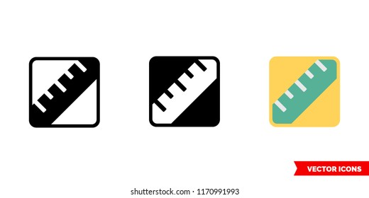 Lipids icon of 3 types: color, black and white, outline. Isolated vector sign symbol.