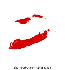 Lips print vector