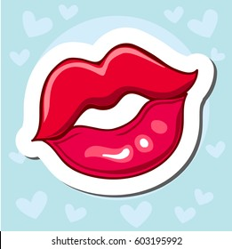 Cartoon Kiss Images, Stock Photos & Vectors | Shutterstock