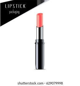 Lipstick. Vector Illustration.