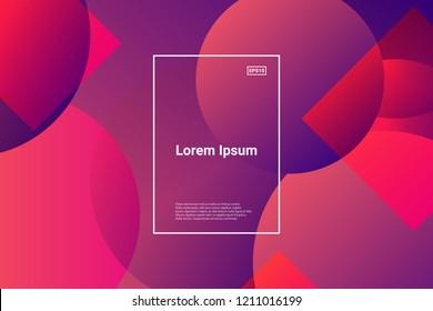 Liquid color background design. Fluid futuristic design posters. Eps10 vector. Trendy gradient shapes composition.