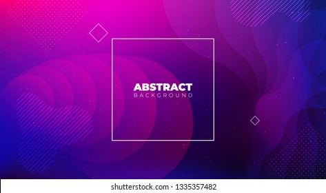 Liquid color background design. Fluid gradient shapes composition. Futuristic design posters. Eps10 vector.