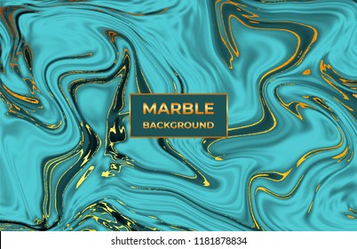 Liquid emerald marble texture. Ink ripples watercolor design. Fluid background for celebration, flyer, placard, party, social media, invitation, birthday, wedding, banner, poster