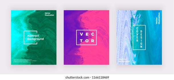 Liquid marble covers design. Blue, pink, purple creative fluid art. Modern background for invitation, wedding, placard, birthday, brochure, banner, cover, layout, card, flyer, presentation.