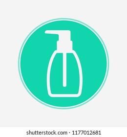 Liquid soap vector icon sign symbol