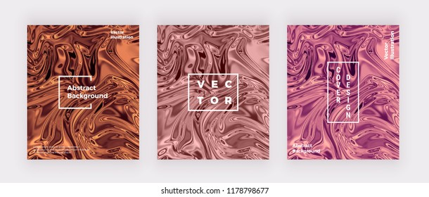 Liquid watercolor marble texture card. Swirls ink, ripples design background. Trendy fluid template for celebration, flyer, placard, party, social media, invitation, birthday, wedding, banner, poster