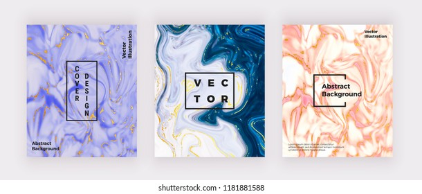 Liquid watercolor marble texture. Swirls ink, ripples design background. Trendy fluid template for celebration, flyer, placard, party, social media, invitation, birthday, wedding, banner, poster